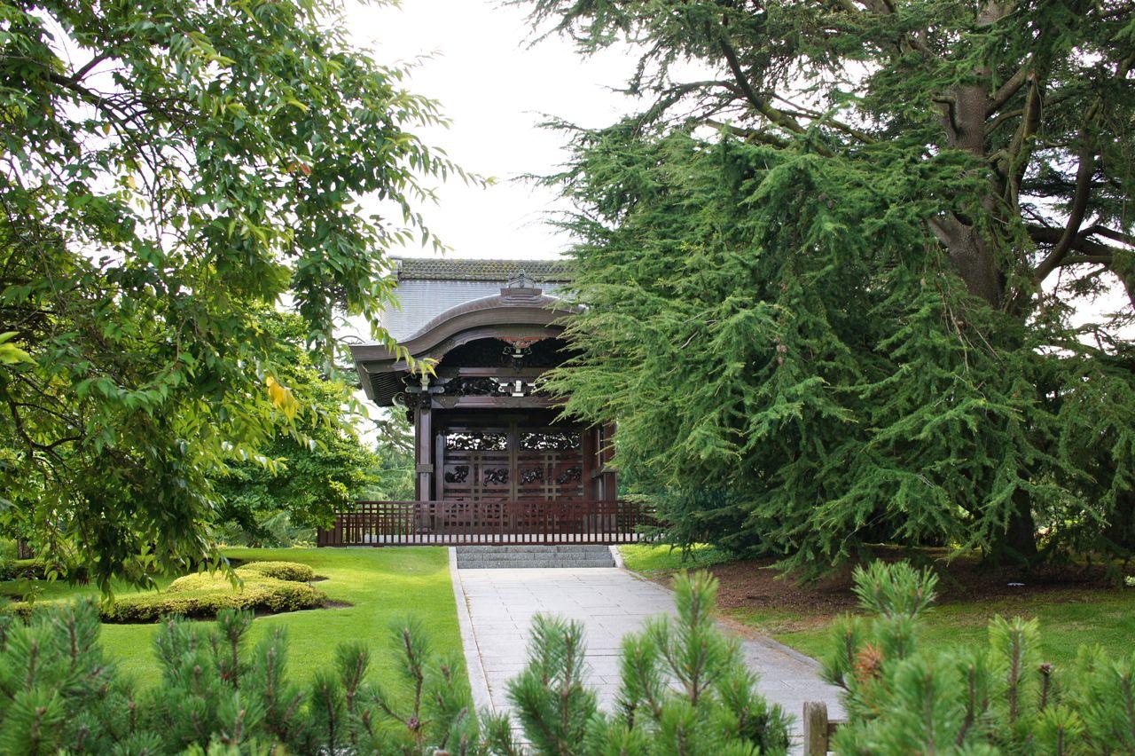 Daí o pavilhão oriental