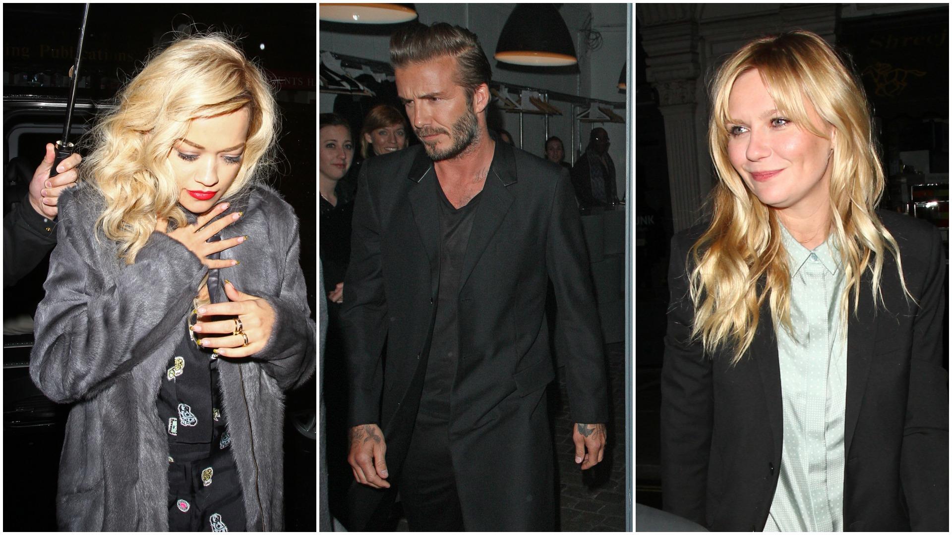 Algumas das celebrities que passam por aqui...