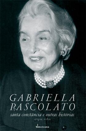 Dona Gabriella, minha avó, usava lindos cabelos brancos!