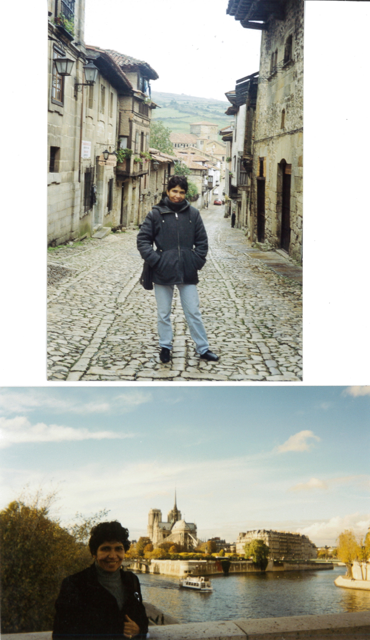 Olá, Consuelo Envio duas fotos: uma, da pequenina Santillana del Mar, na Espanha, rota costeira do Caminho de Santiago, onde se encontra a famosa gruta de Altamira. A outra, tá na cara, né? Paris, com o Sena e a Notre Dame ao fundo. Parabéns pelo blog! Bjs. Vera