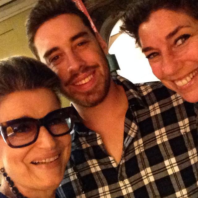 Selfie de três gerações...