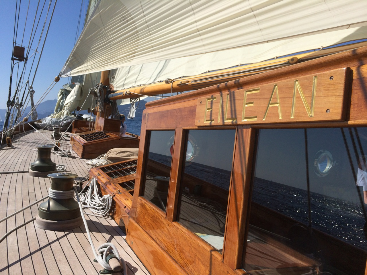 Eilean é uma beleza de 22 metros de 1936.