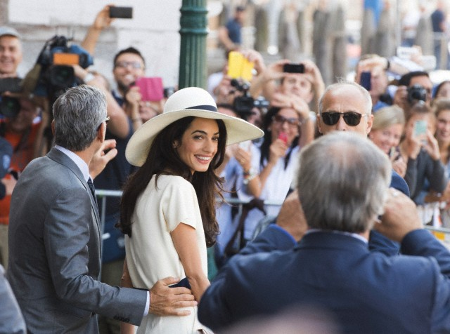 Italy - George Clooney And Amal Alamuddin To Get Married In Venice