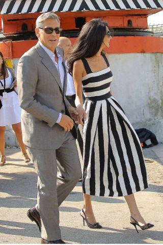 Casamento George Clooney e Amal Alamuddin, be still my broken heart…
