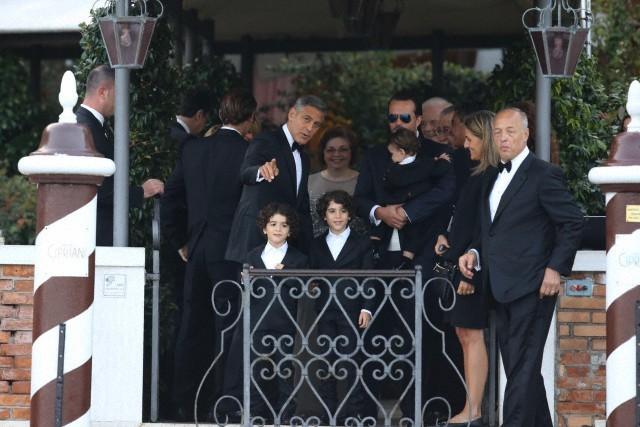 A cerimonia foi black tie