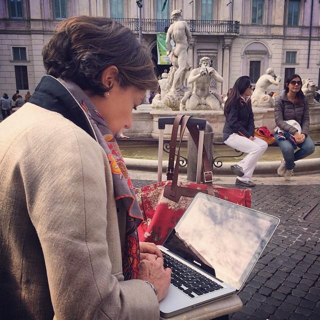 Terminando o post na Piazza Navona