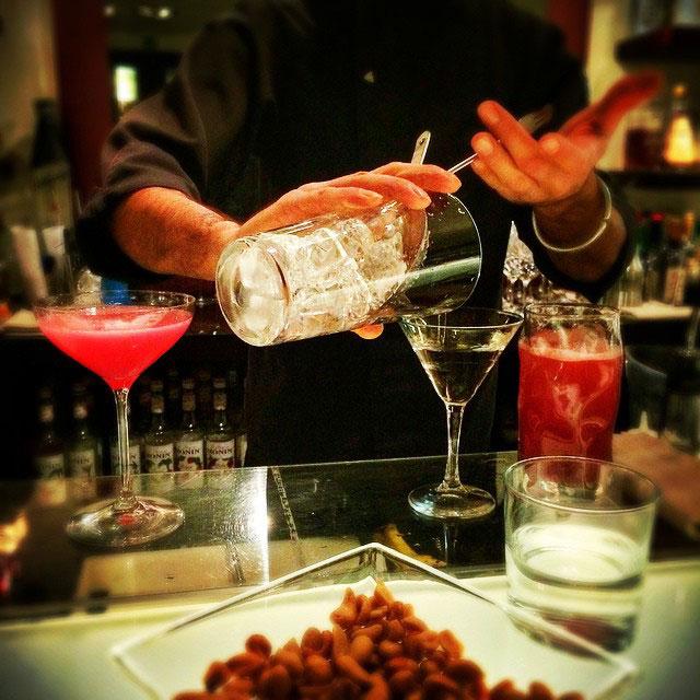 Fomos no Fusion Bar do Hotel Gallery. Foto Roberto Leone