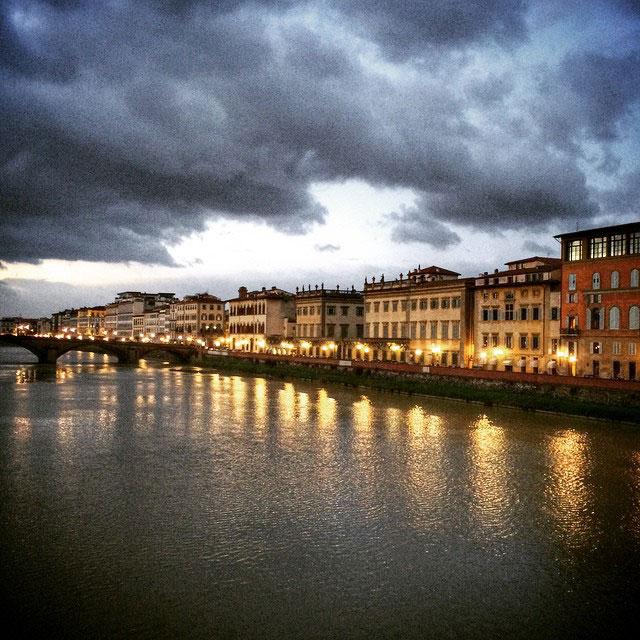 Atravessamos o rio que é sempre tão tão lindo!!... Foto Roberto Leone