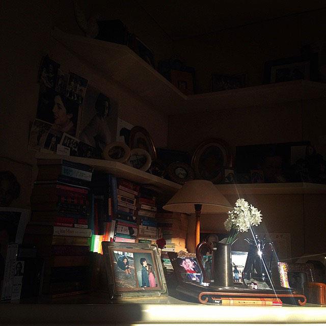 A luz estava linda