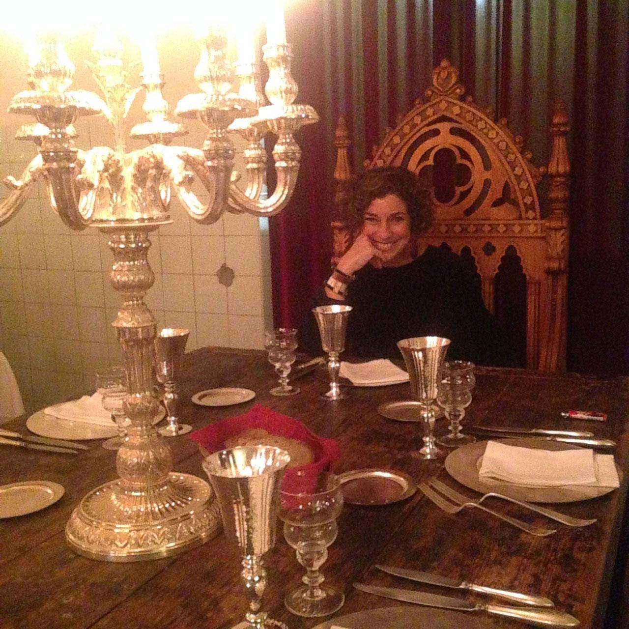 Me sentindo uma rainha!! Este trono foi leiloado pela ópera de Florença!