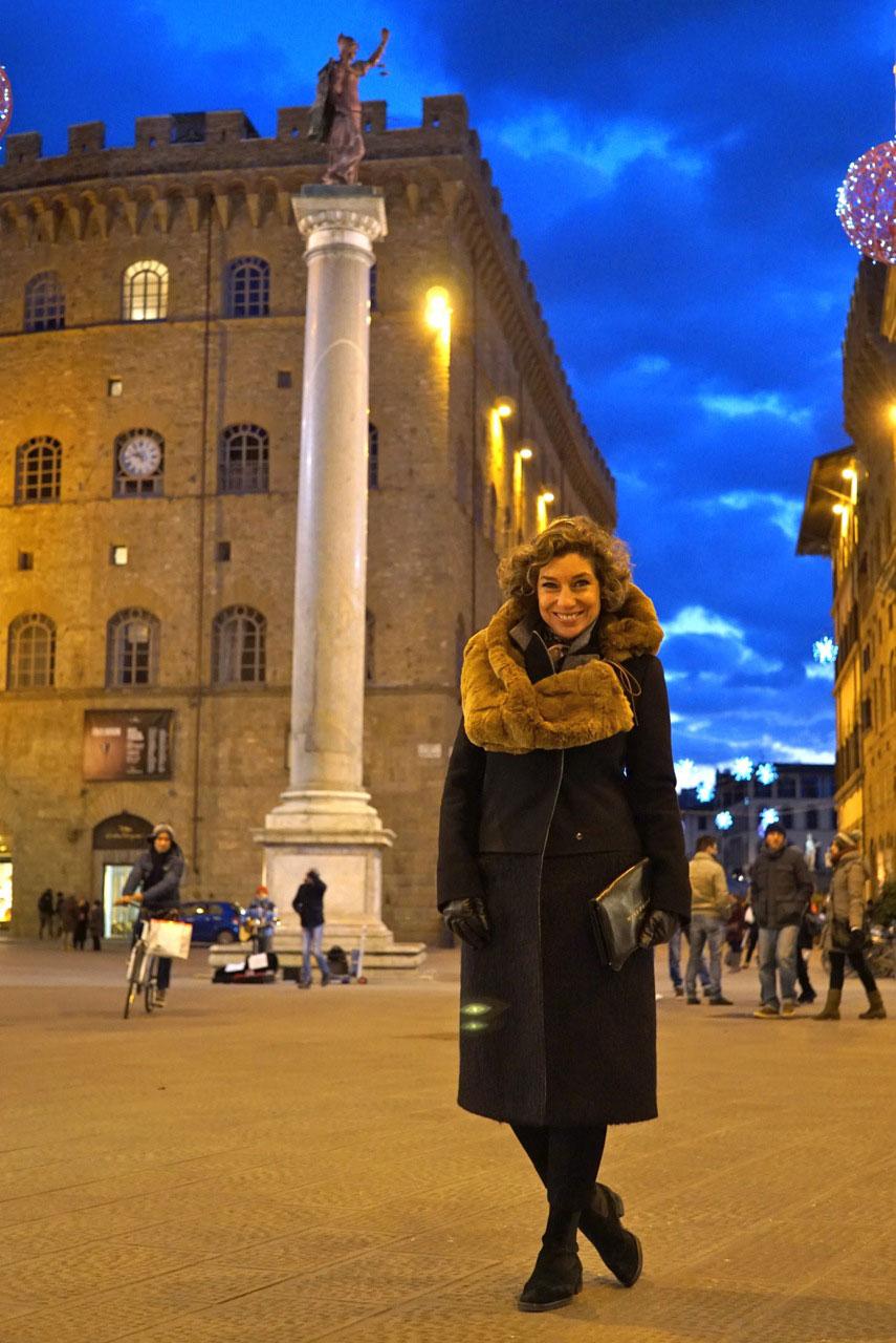 Passeando por Florença no inverno...