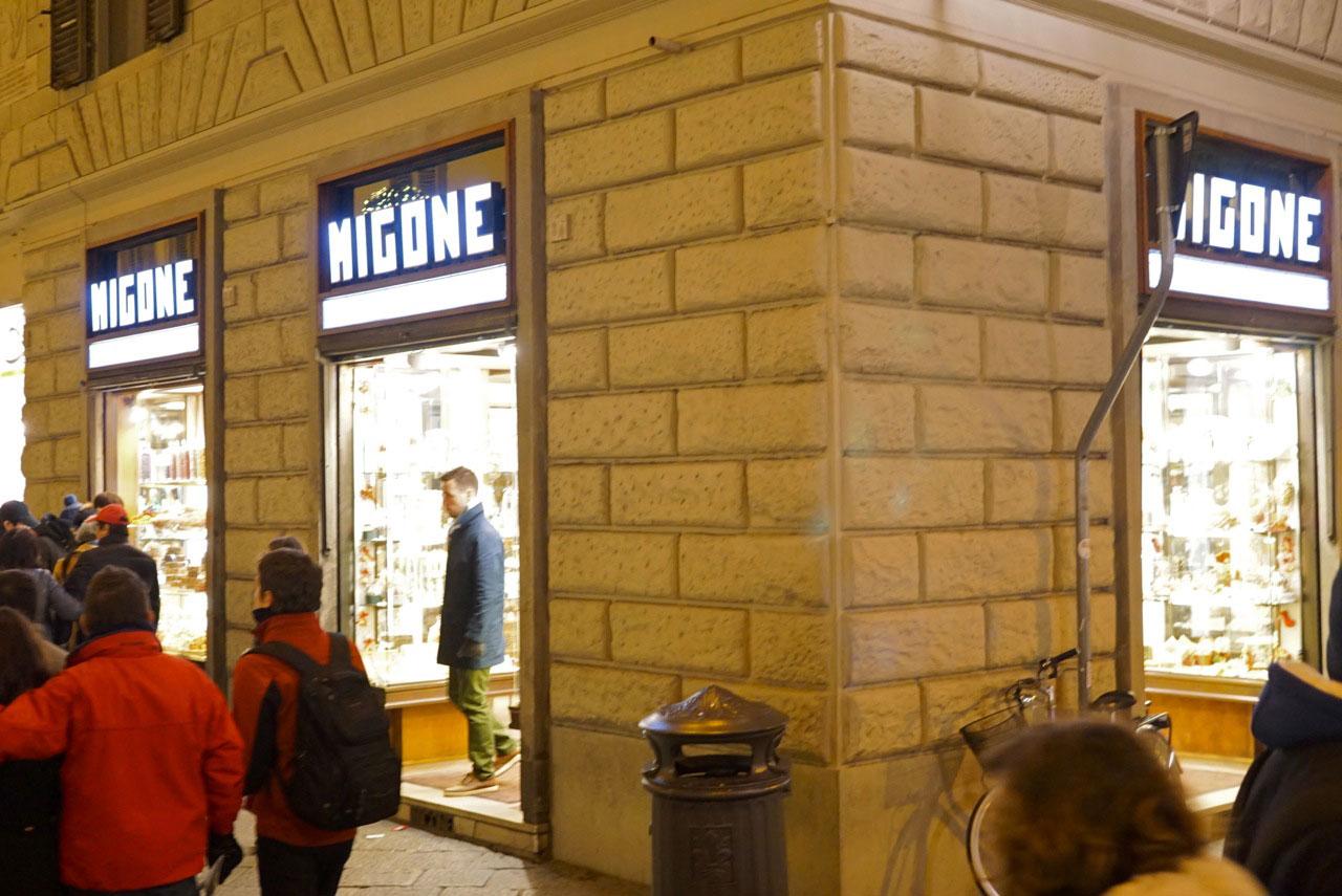 Pertinho do Duomo fica a doceira Migone