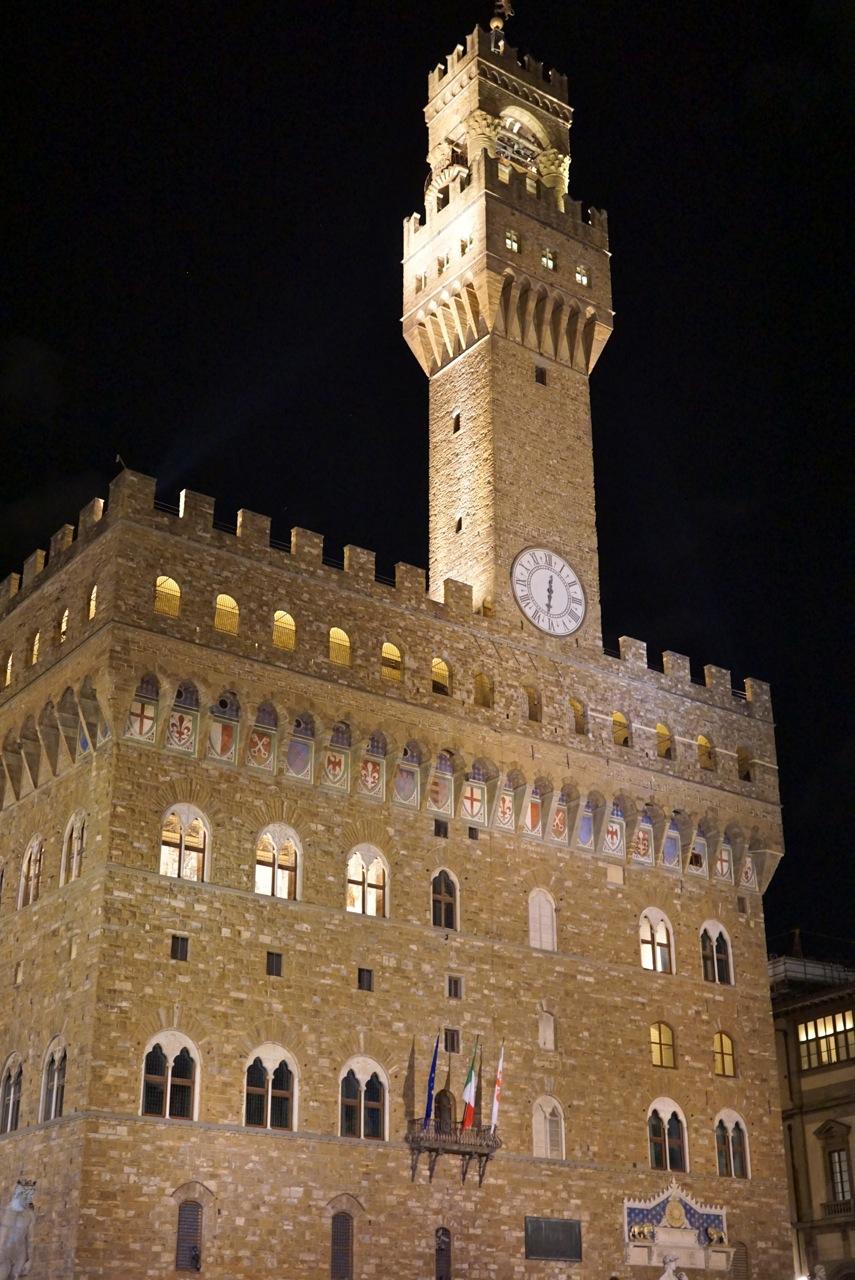 O incrível Palazzo Vecchio!...