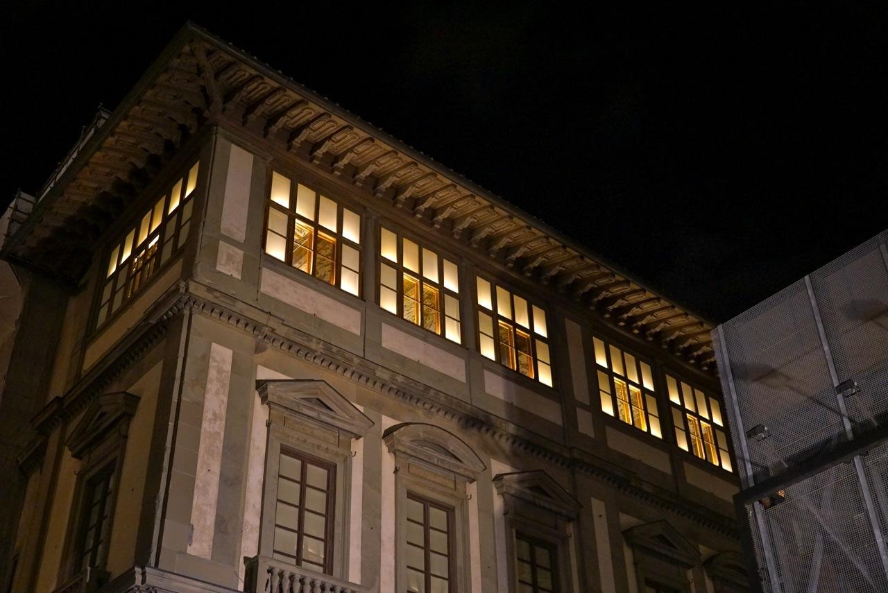 O museu Uffizi com seus tetos affrescati!