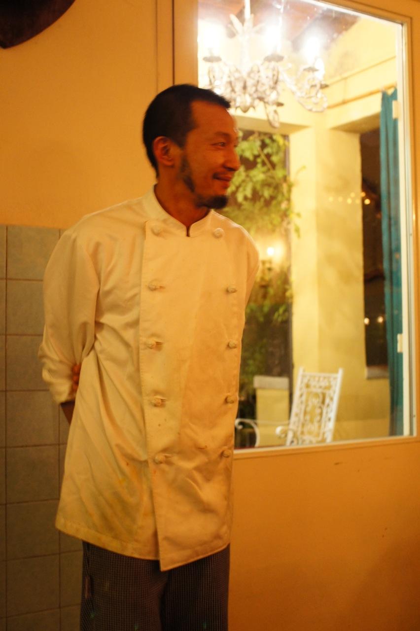 O chef!!