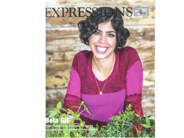 A revista Expressions é muito respeitada e de qualidade, um erro destes, como o meu nome, certamente verá remediado.