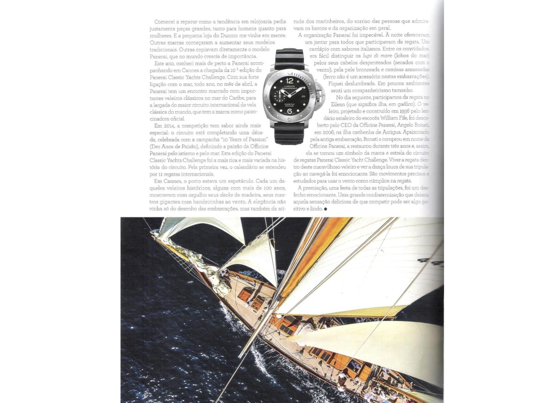 Uma regata, um relógio e o estilo italiano…