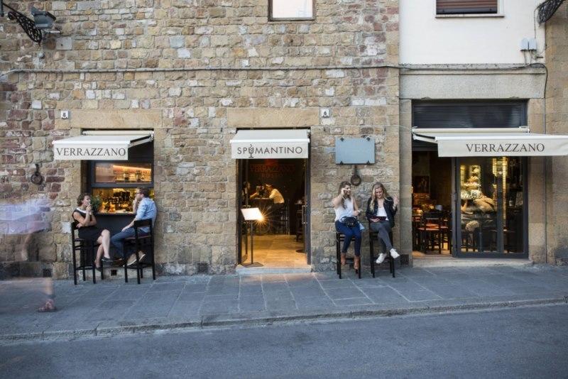Spumantino, informal wine-bar ao lado da Ponte Vecchio