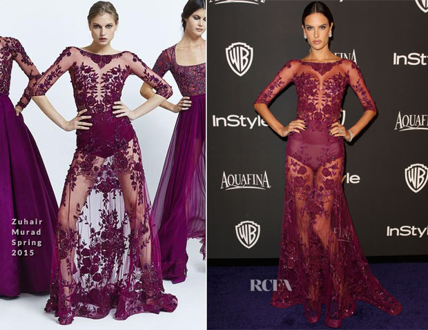 Alessandra-Ambrosio-In-Zuhair-Murad-2015-InStyle-and-Warner-Bros-72nd-Annual-Golden-Globe-Awards-Post-Party