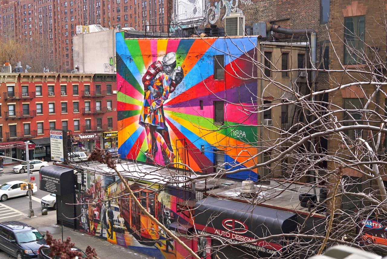 Vista do Highline em Nova Iorque