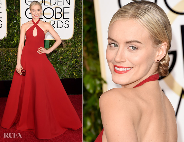 Taylor-Schilling-In-Ralph-Lauren-----2015-Golden-Globes