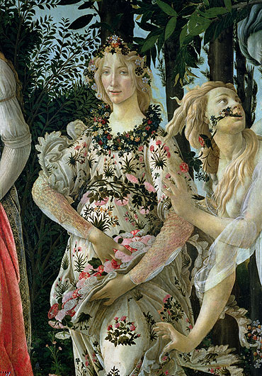 an analysis of the painting primavera by sandro botticelli The birth of venus is a masterpiece produced by the early renaissance painter sandro botticelli the painting has been interpreted in a number of ways.