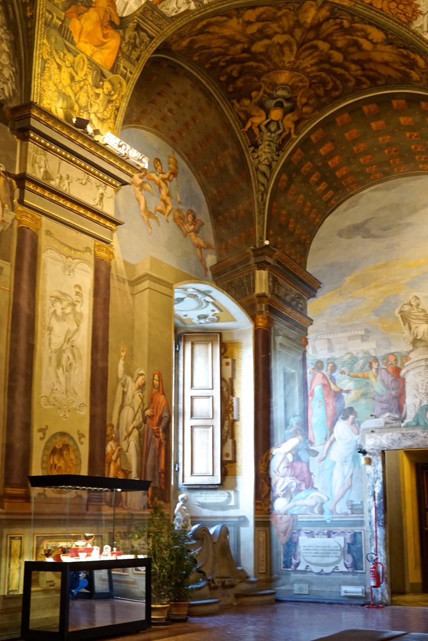 O Museu degli Argenti, algumas salas do Palazzo Pitti, antiga residência dos mecenas da família Medici, são entre as mais lindas deste palácio.
