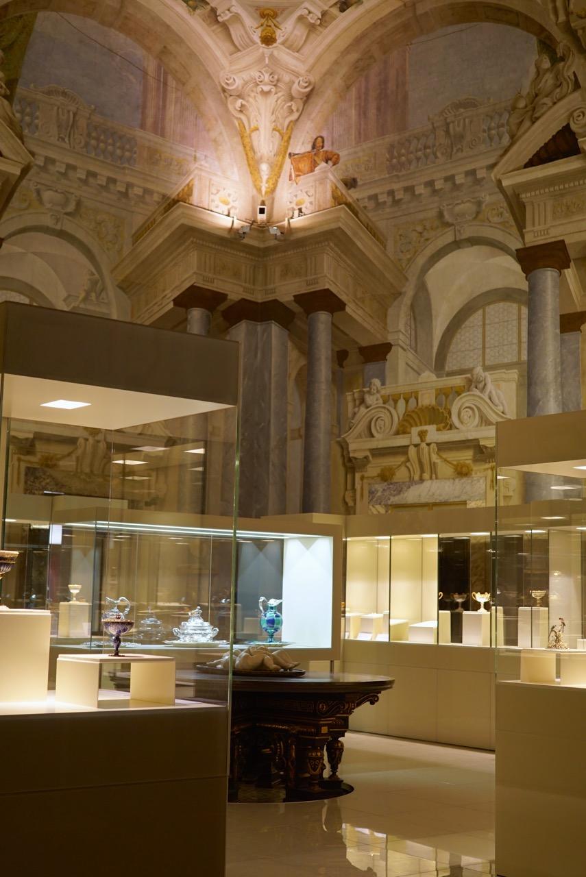 A maravilhosa exposição de joias do maestro Bucellatti no Palazzo Pitti.