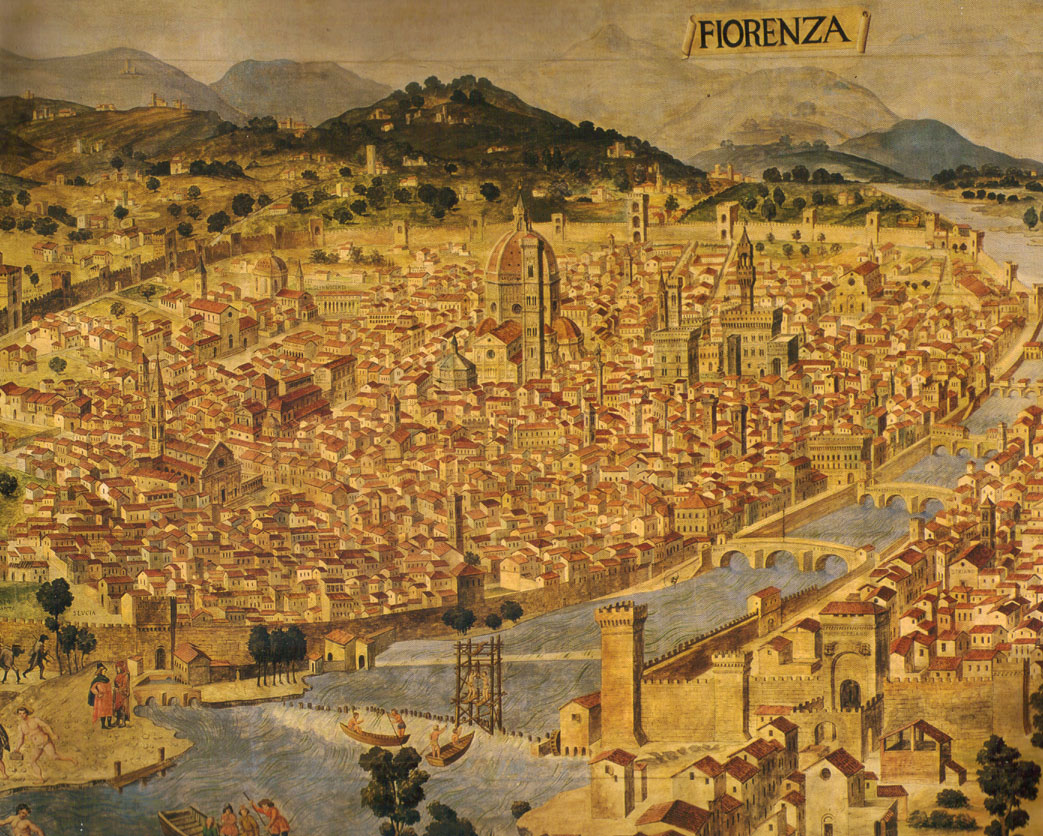O Renascimento, que surgiu em Florença, berço de uma nova cultura, transformou a Itália no centro da mais alta civilização mundial. É a Idade de Ouro, que legará gênios jamais imagináveis.