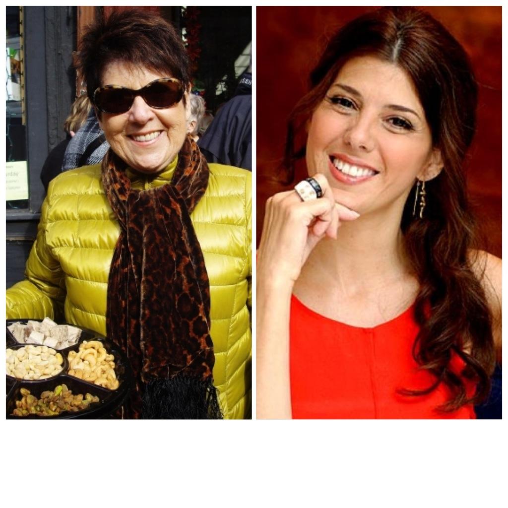 Eddie Tomey, mãe de Marisa, dá tours culinários em NY!
