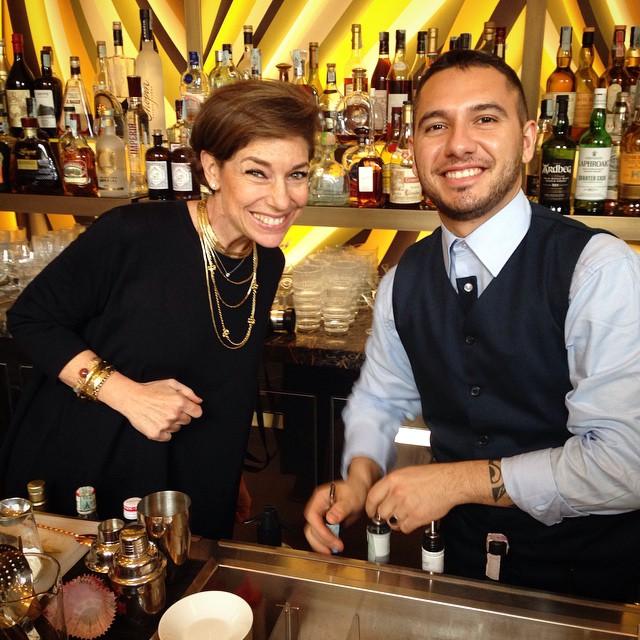 Dando uma de barwoman!
