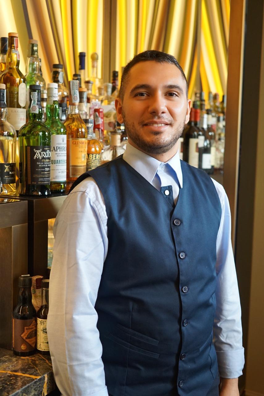 O barman Roberto