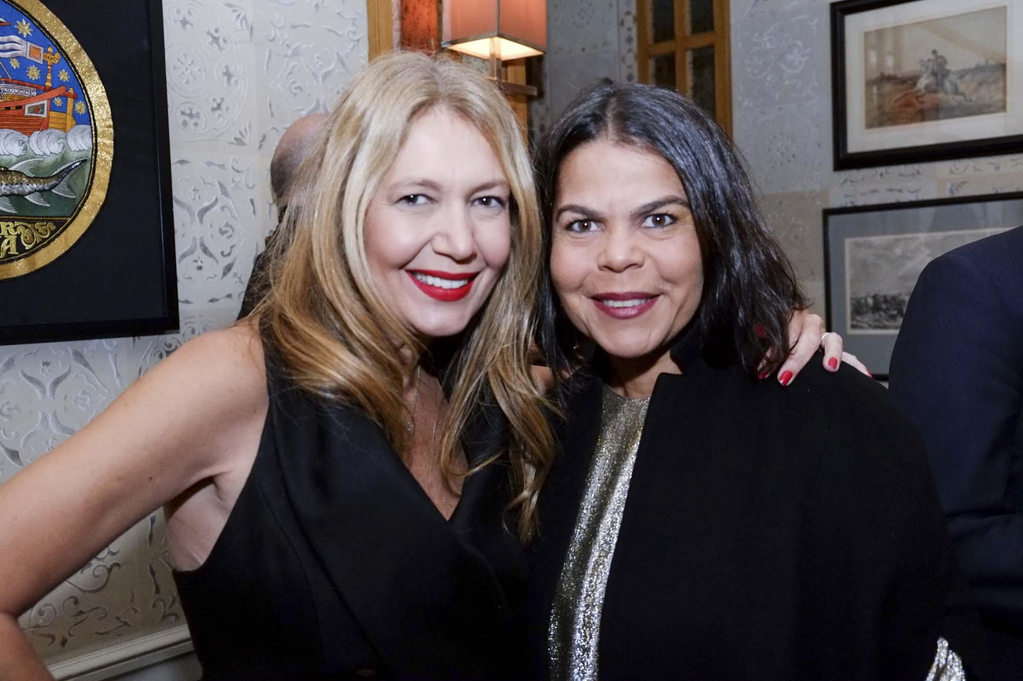Daniela Falcão e Donata Meirelles da Vogue