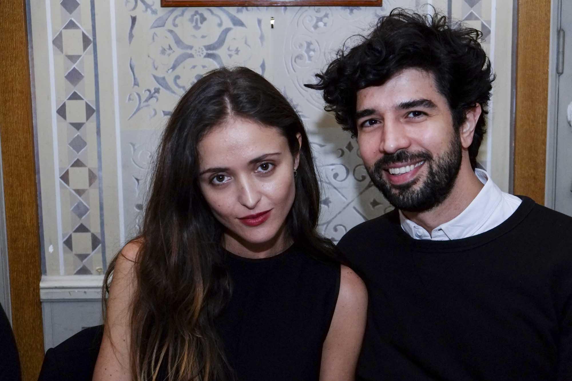 Barbara Casasola e Fernando Jorge, fantástico designer de jóias com base em Londres