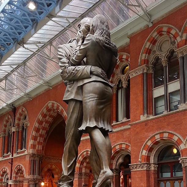 The Meeting Place, St Pancras Station, London
