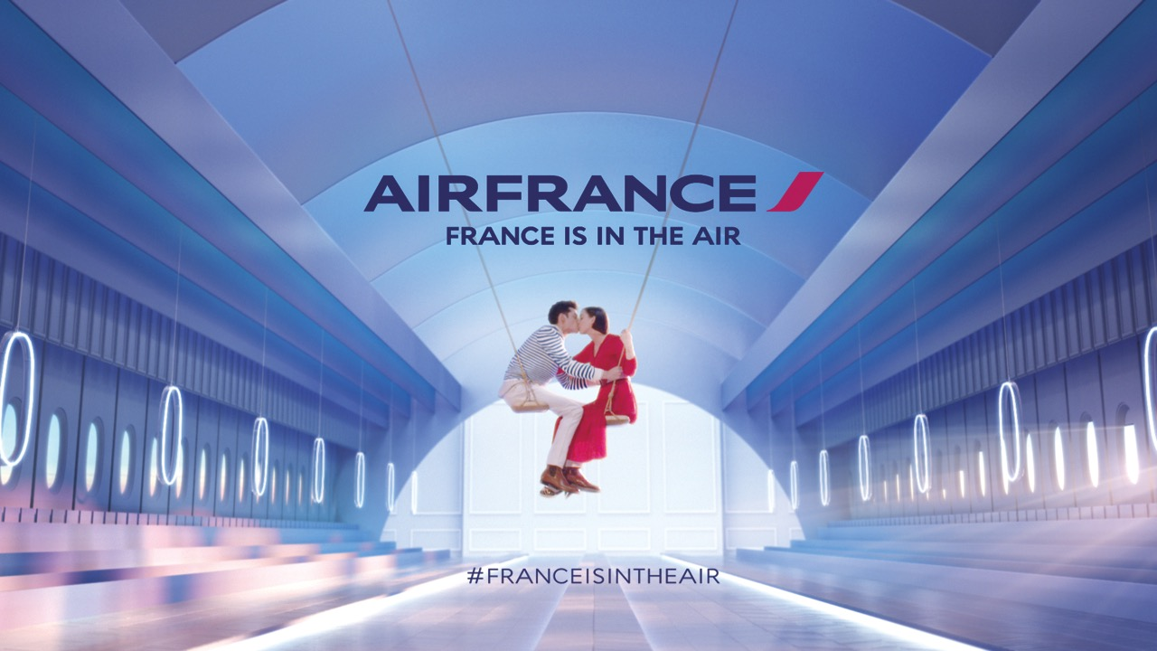France is in the air-le Baiser