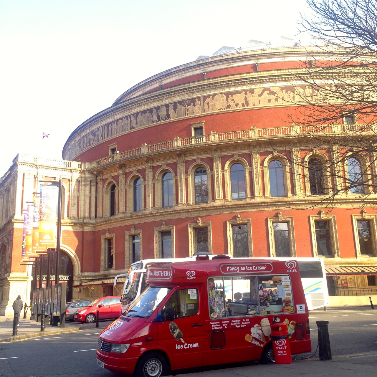 Passei no Royal Albert Hall!