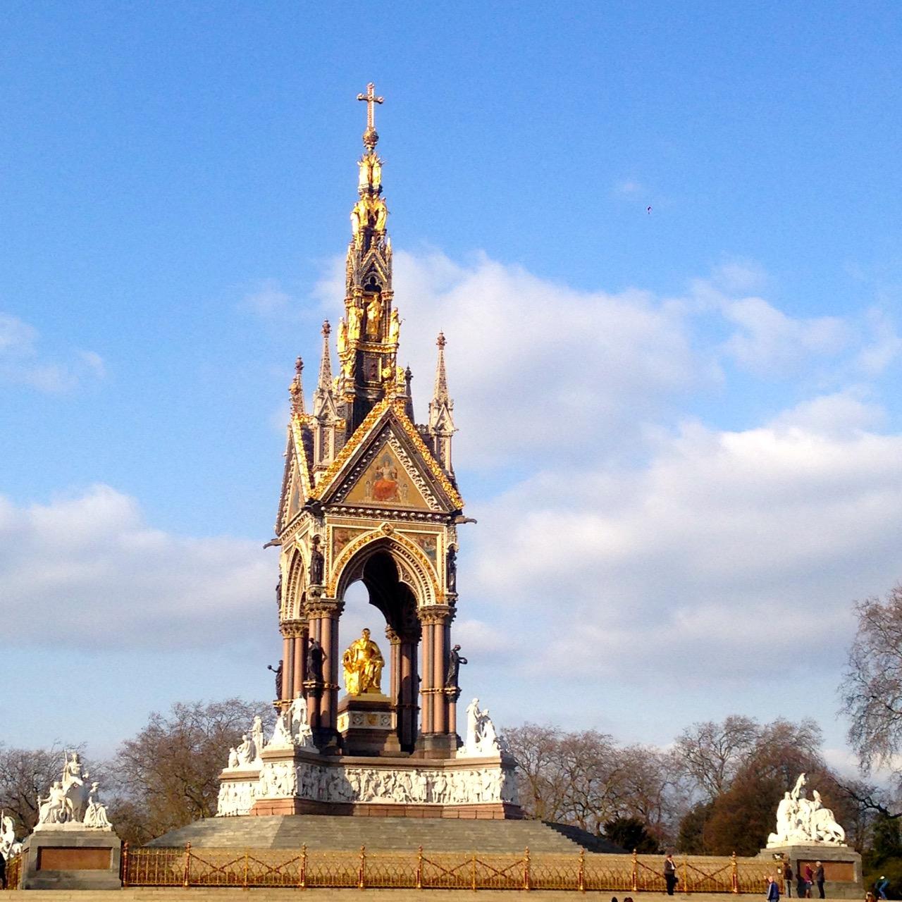O último dia em Londres amanheceu glorioso!