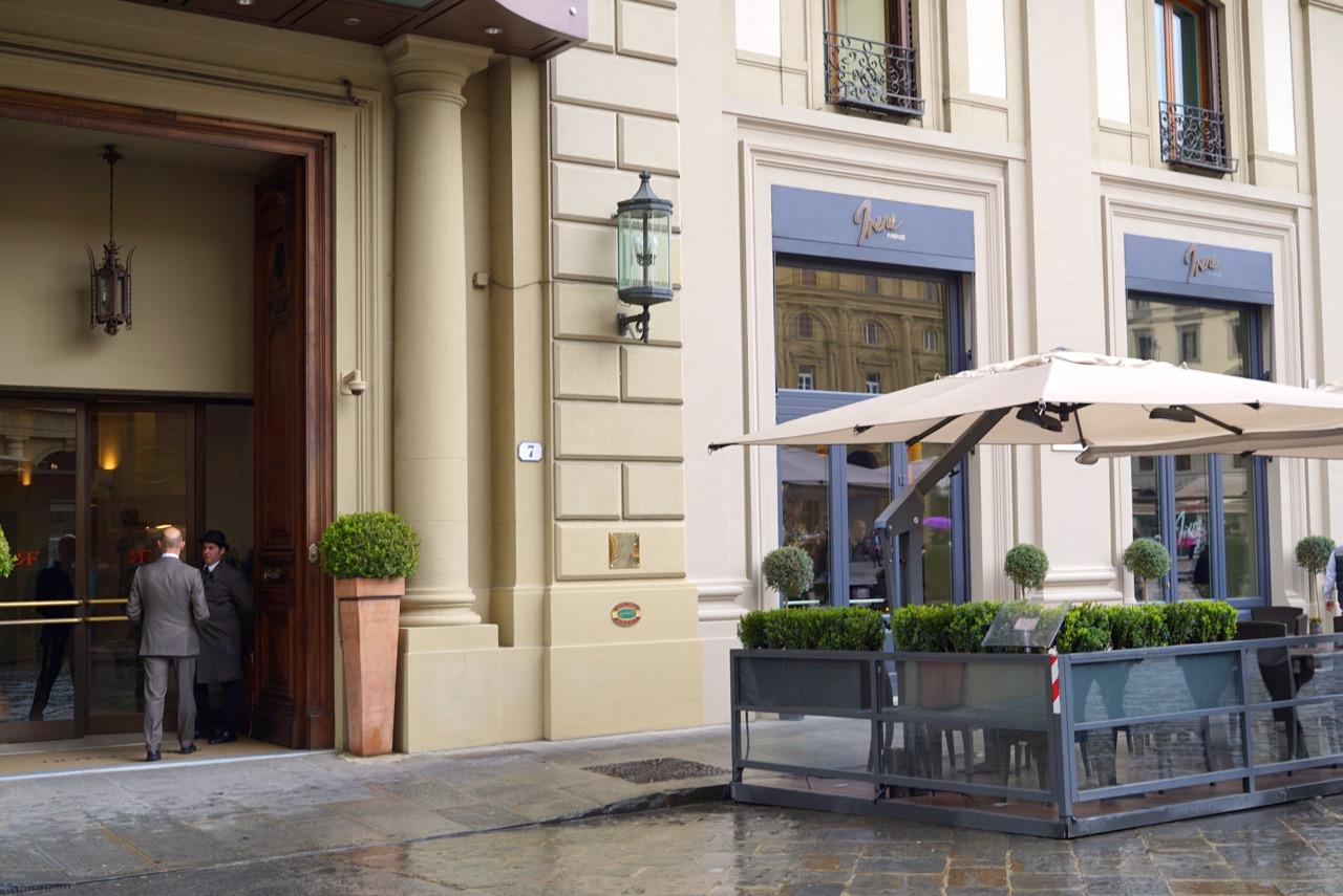 O novo Bistrot Toscano, Irene, no Hotel Savoy