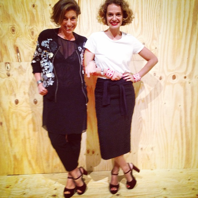 Insclusive, olhem só a coincidência fashion com a querida Ucha Meirelles!!