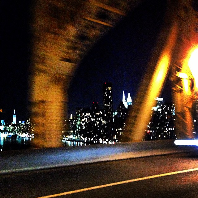 Chegando em Nova Iorque pelo Queensboro Bridge