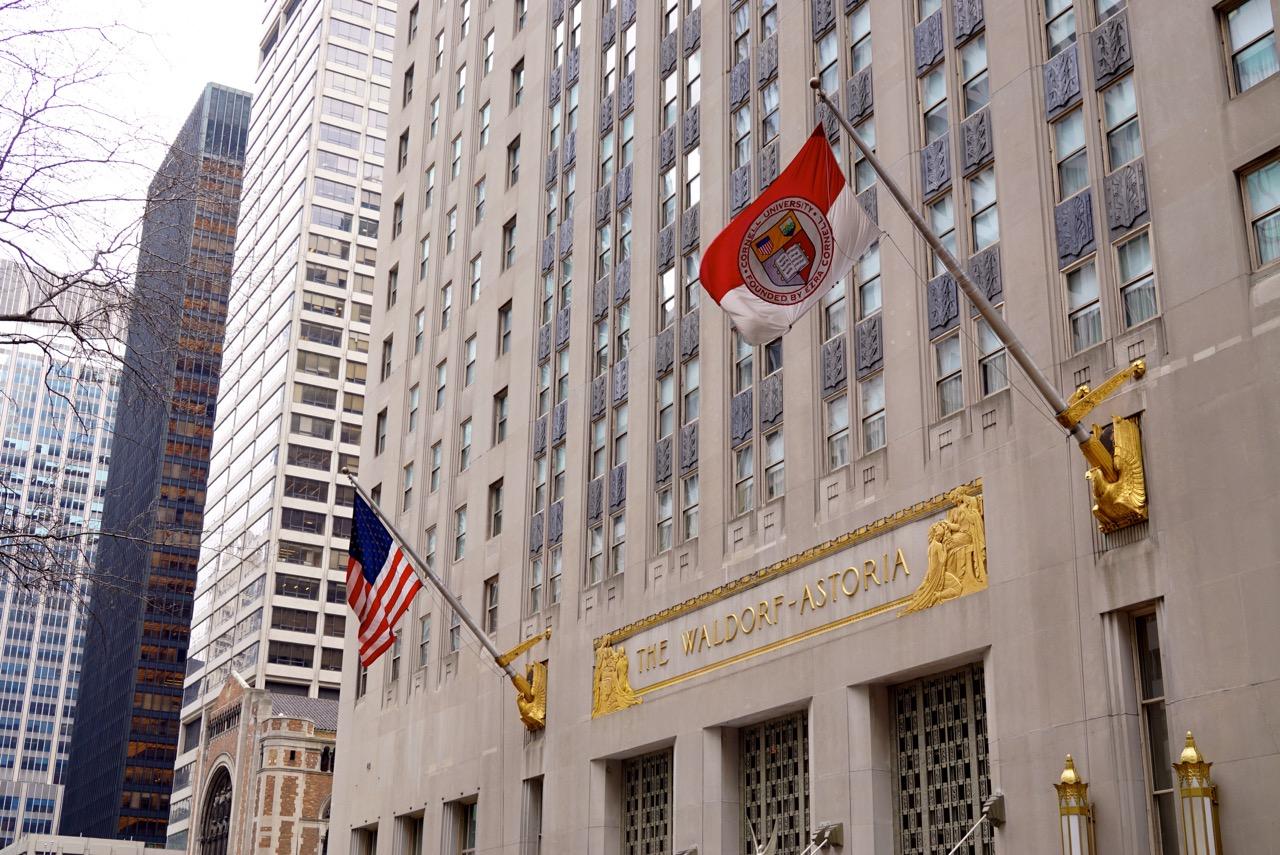 O hotel Waldorf Astoria