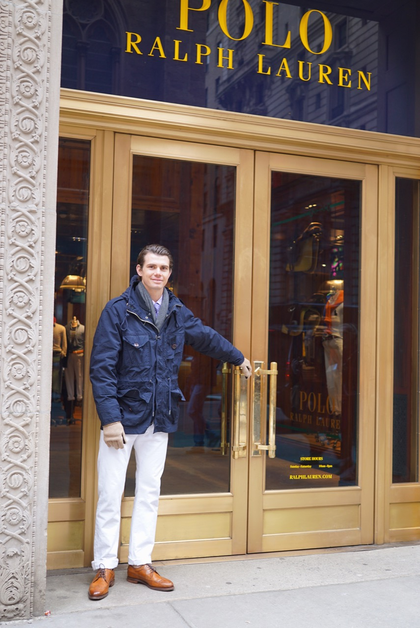 "O ""abri-portas"" da Ralph Lauren"