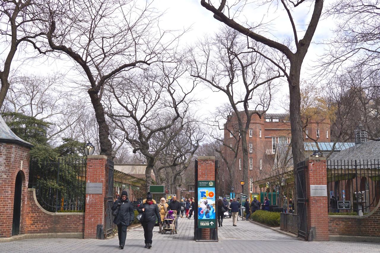 Dentro do Central Park tem um zoológico!!