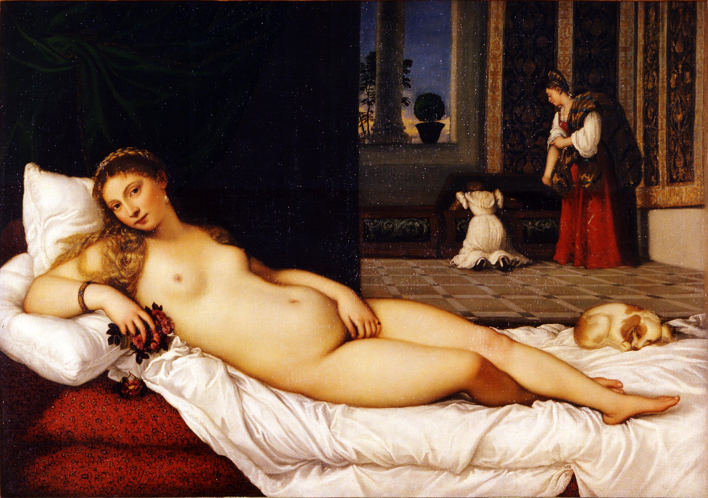 Tiziano Vênus de Urbino