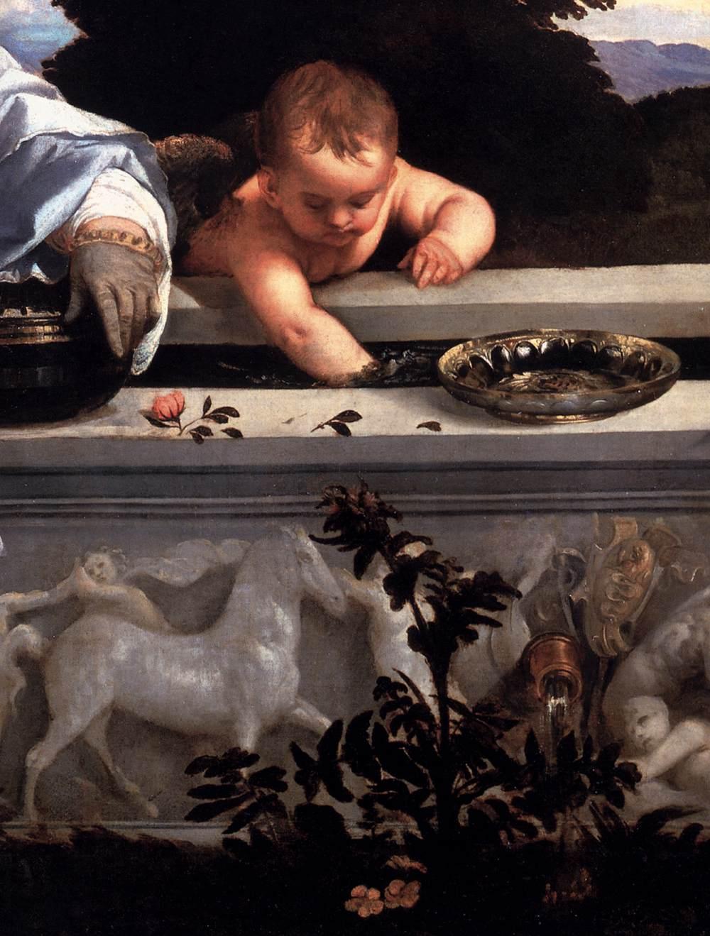 Tiziano detalhe cupido