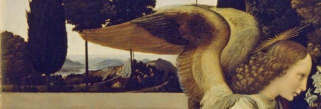 Anunciação asas do anjo