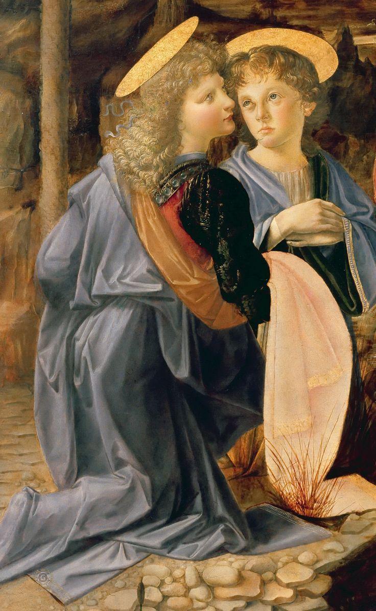 Segundo contam, tamanha leveza, suavidade e movimento dedicados por Leonardo ao secundário personagem (o anjo da frente), despertaram em Verrochio o amargo gosto de sentir-se superado. Tal peso o teria feito largar definitivamente os pincéis.