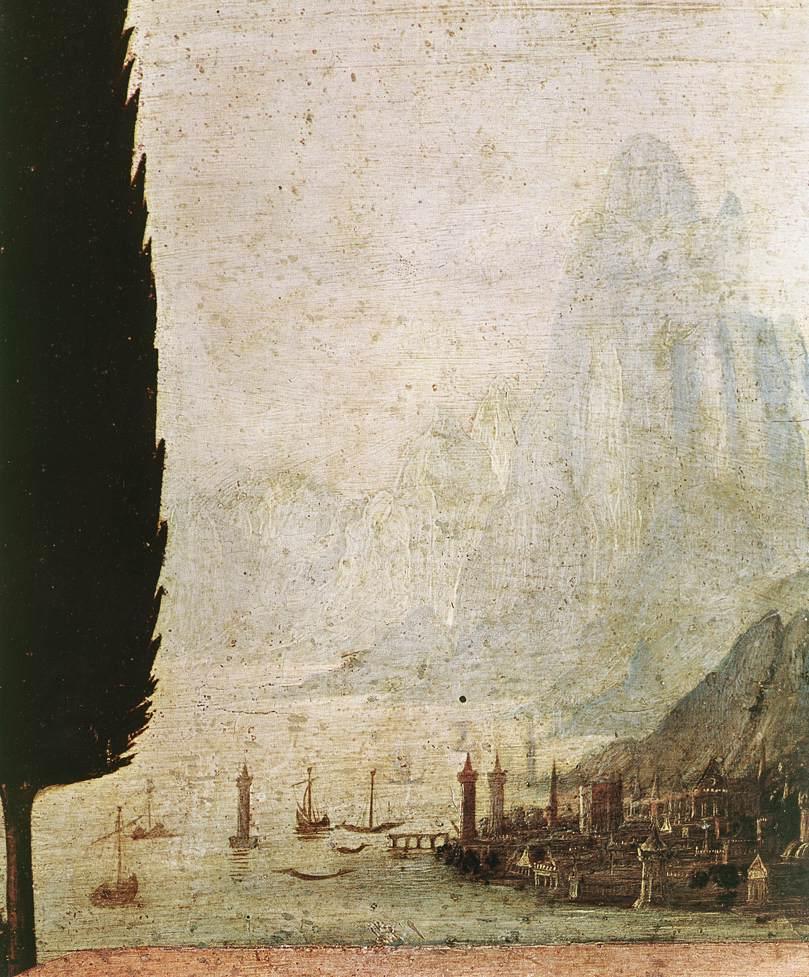 Da Vinci paisagem