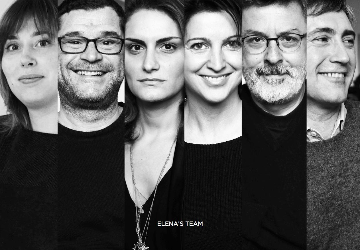 O time de Elena Ghisellini